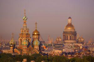 Посмотри на осенний Петербург с нашей террасы
